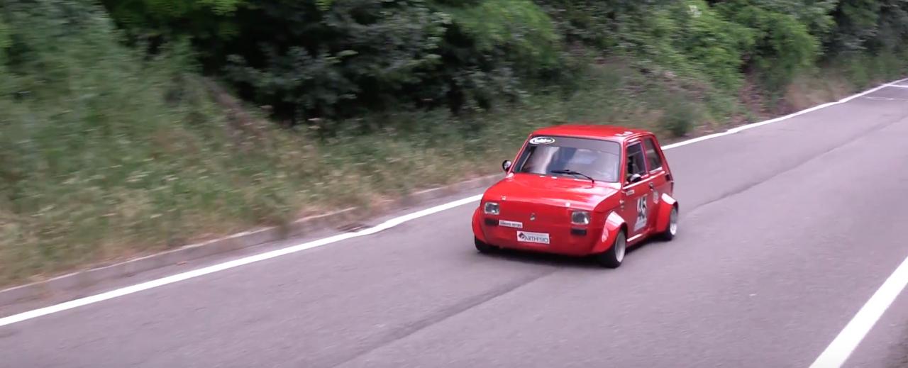 Hillclimb Monster : Fiat 126 presque d'origine...! 9