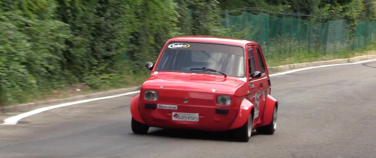 Hillclimb Monster : Fiat 126 presque d'origine...! 7