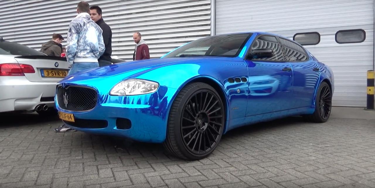 Engine sound : Maserati Quattroporte from Hell ! 5