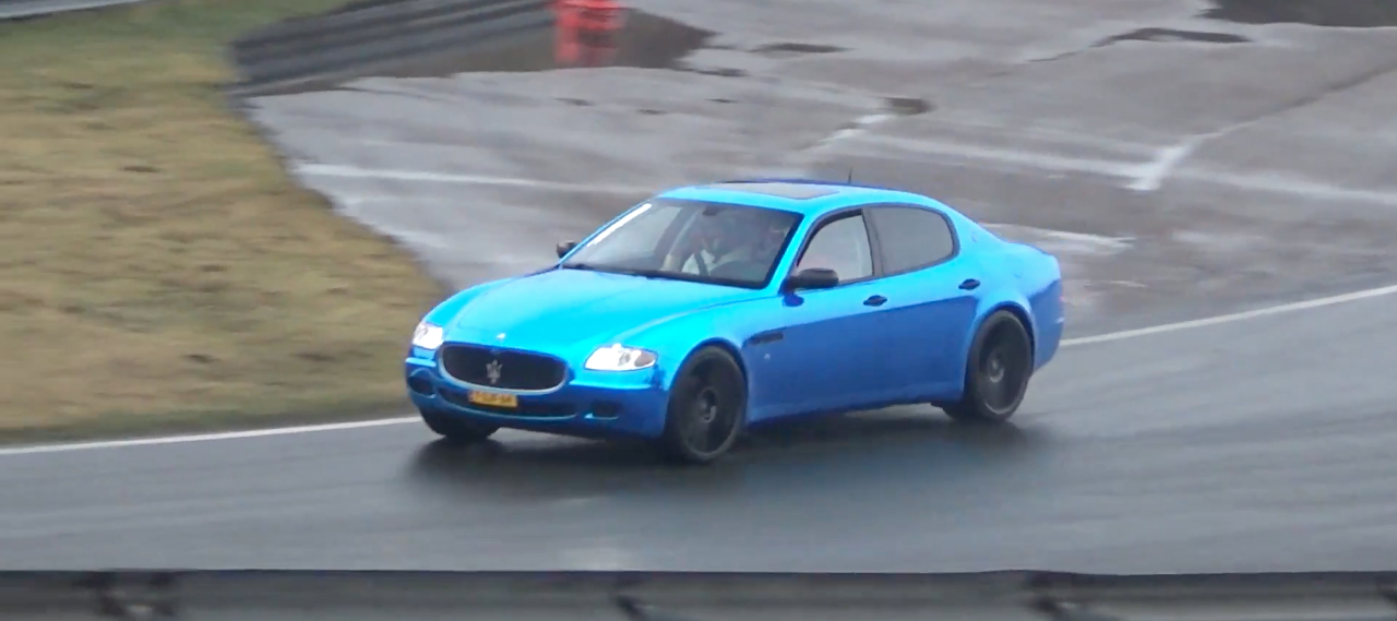 Engine sound : Maserati Quattroporte from Hell ! 2