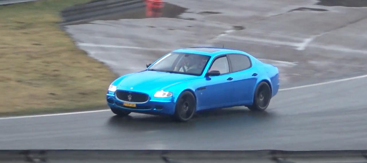 Engine sound : Maserati Quattroporte from Hell ! 17