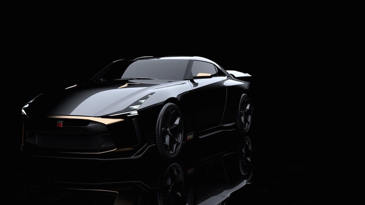 Ital Design Nissan GT-R50... Joli cadeau ! 34