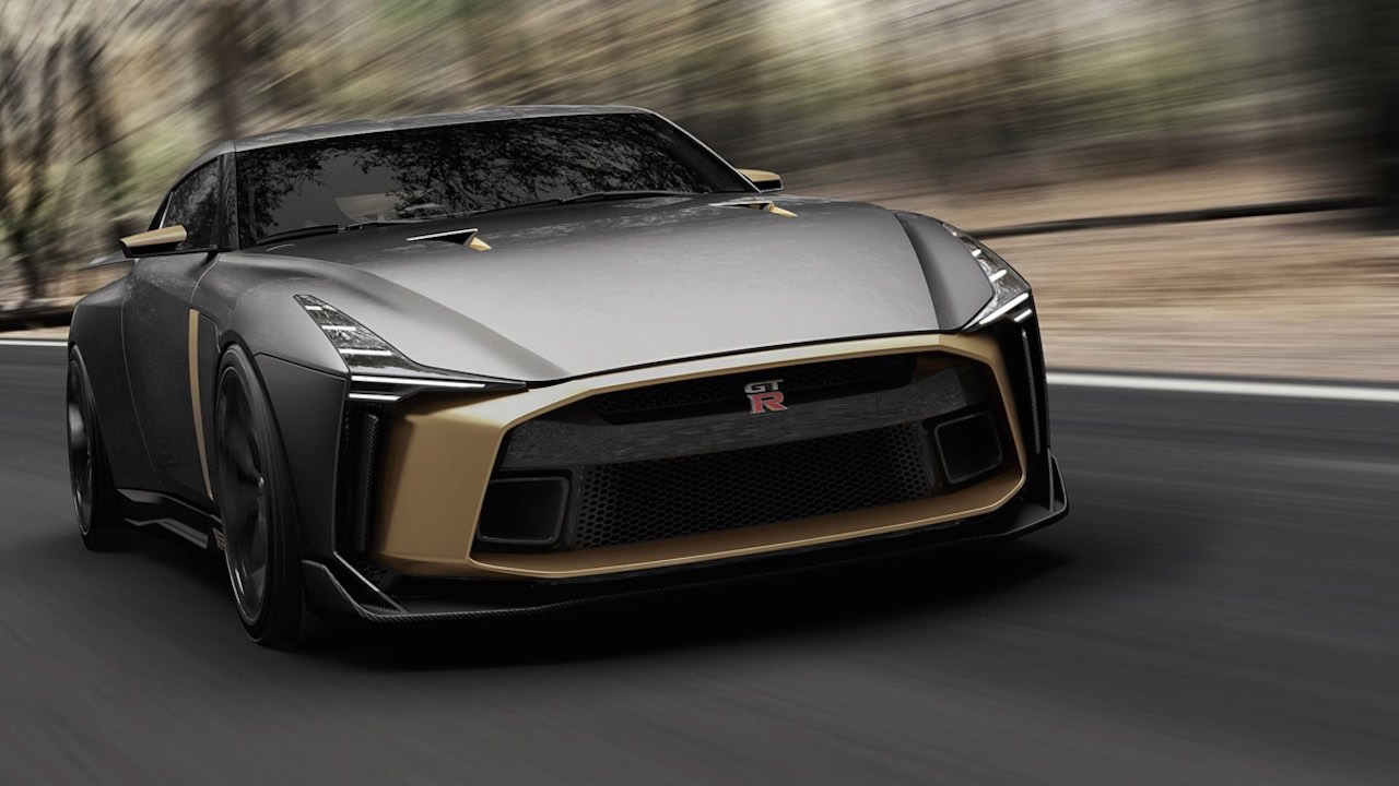 Ital Design Nissan GT-R50... Joli cadeau ! 47