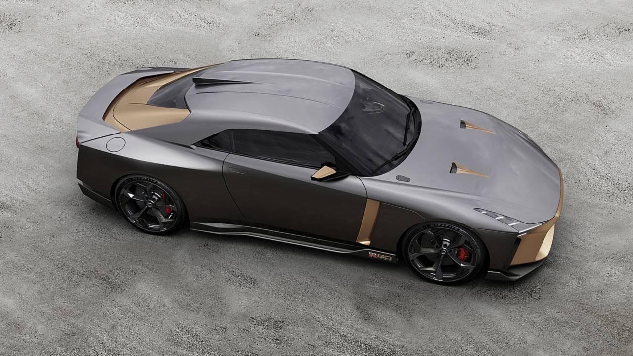 Ital Design Nissan GT-R50... Joli cadeau ! 41