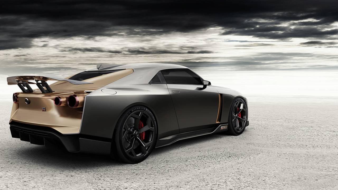 Ital Design Nissan GT-R50... Joli cadeau ! 42