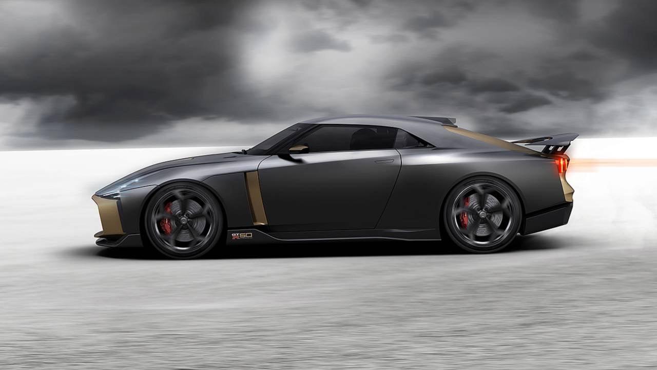 Ital Design Nissan GT-R50... Joli cadeau ! 43