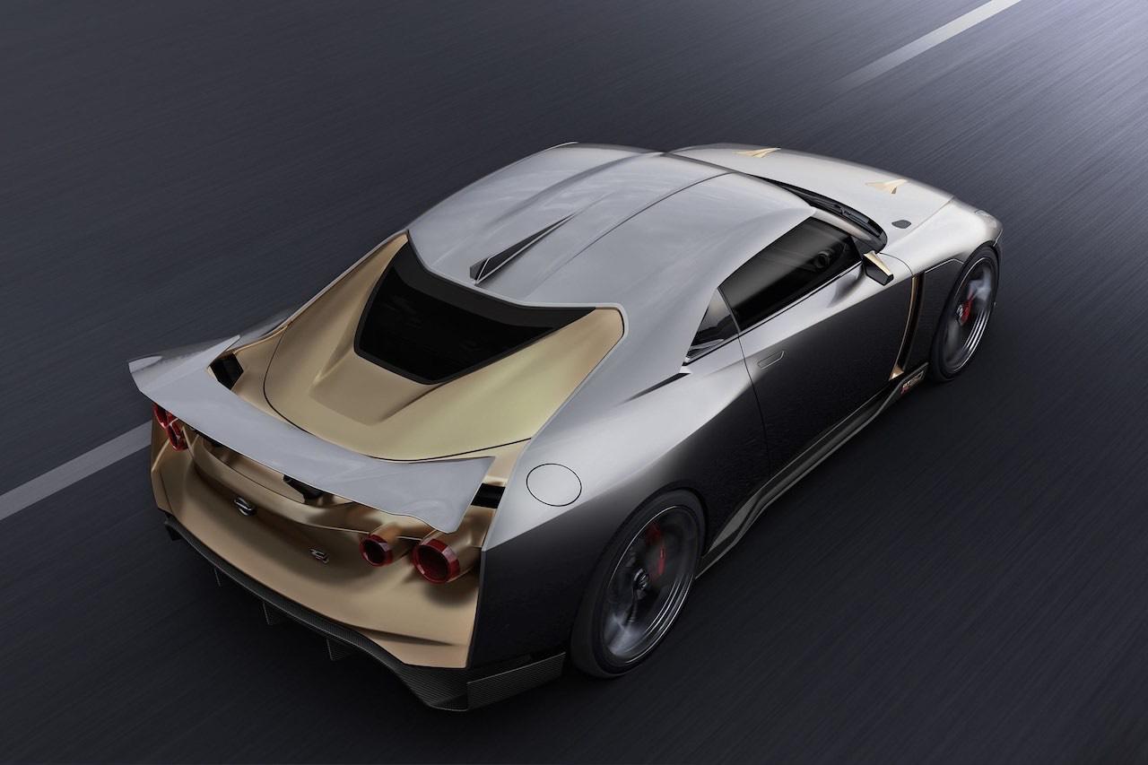 Ital Design Nissan GT-R50... Joli cadeau ! 44