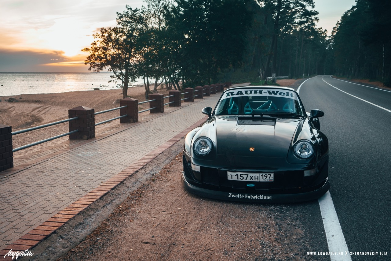 Porsche 993 Carrera RWB ! Presque sobre... 30