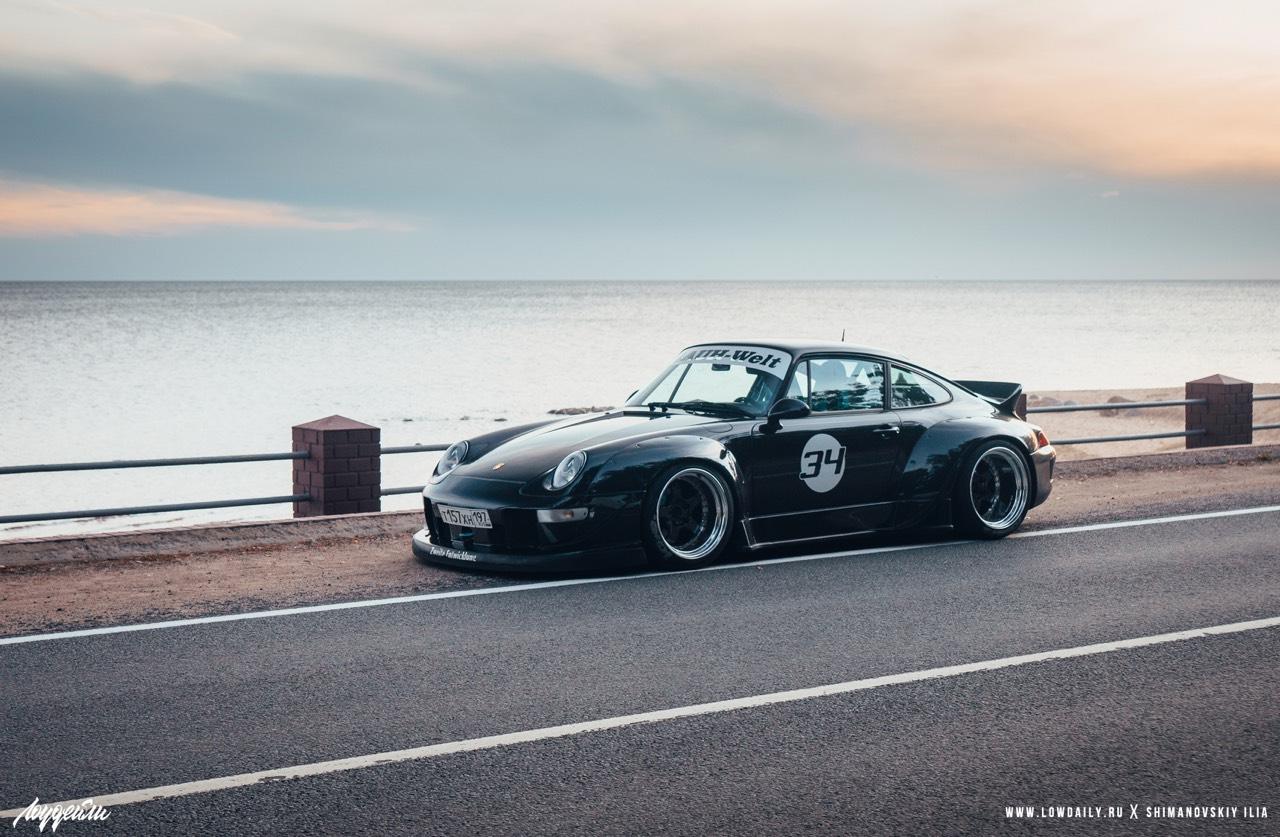 Porsche 993 Carrera RWB ! Presque sobre... 15