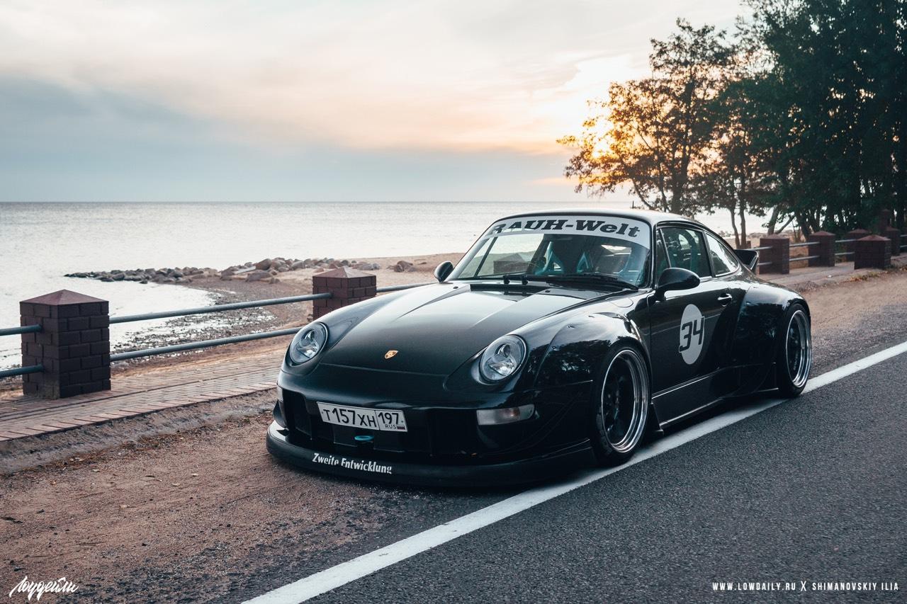 Porsche 993 Carrera RWB ! Presque sobre... 1