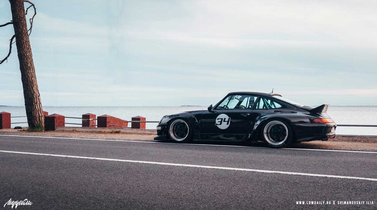 Porsche 993 Carrera RWB ! Presque sobre... 13