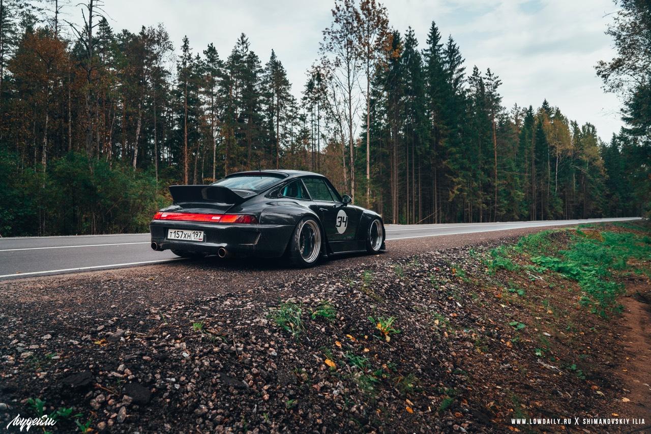 Porsche 993 Carrera RWB ! Presque sobre... 19