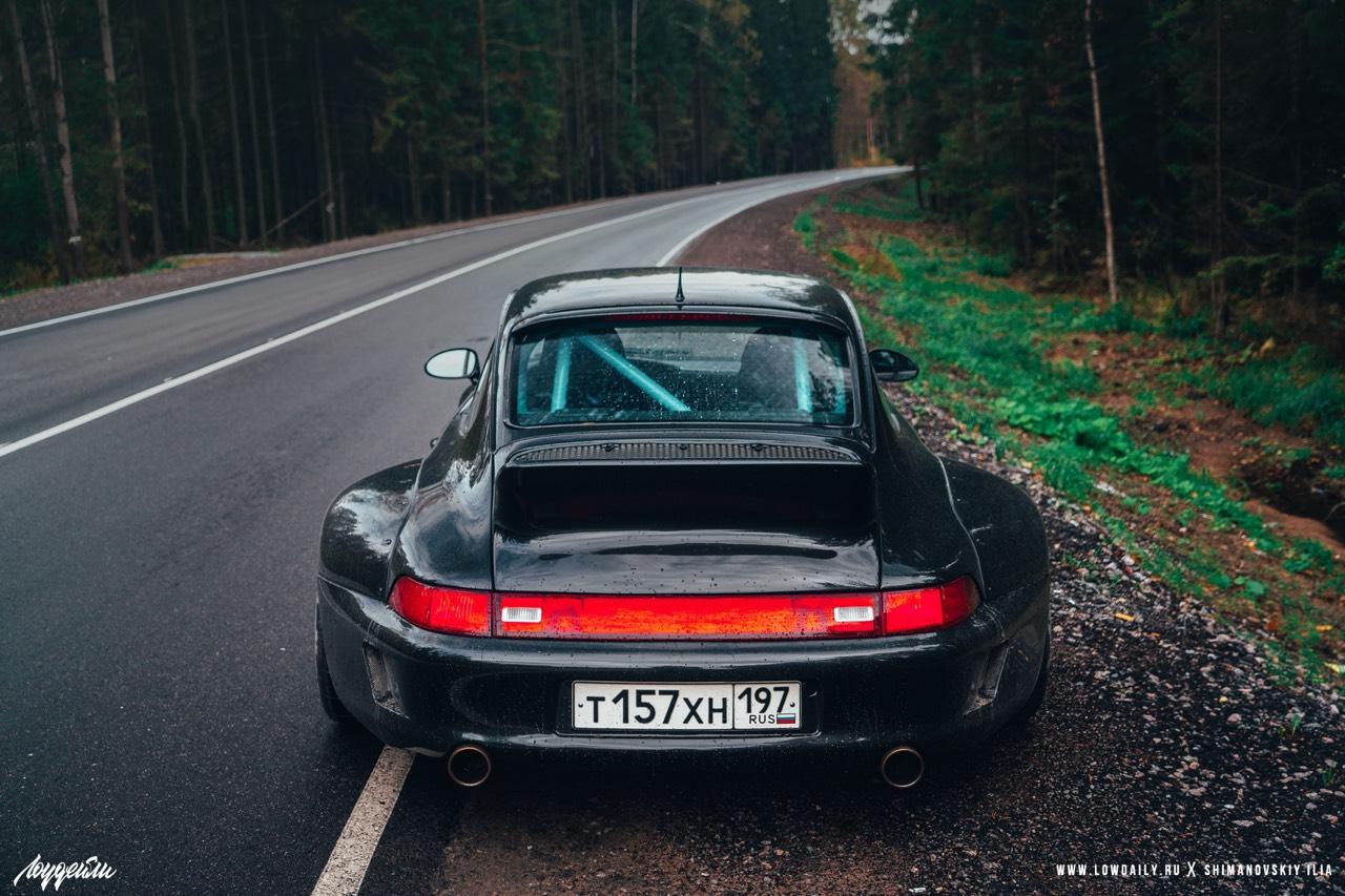 Porsche 993 Carrera RWB ! Presque sobre... 2