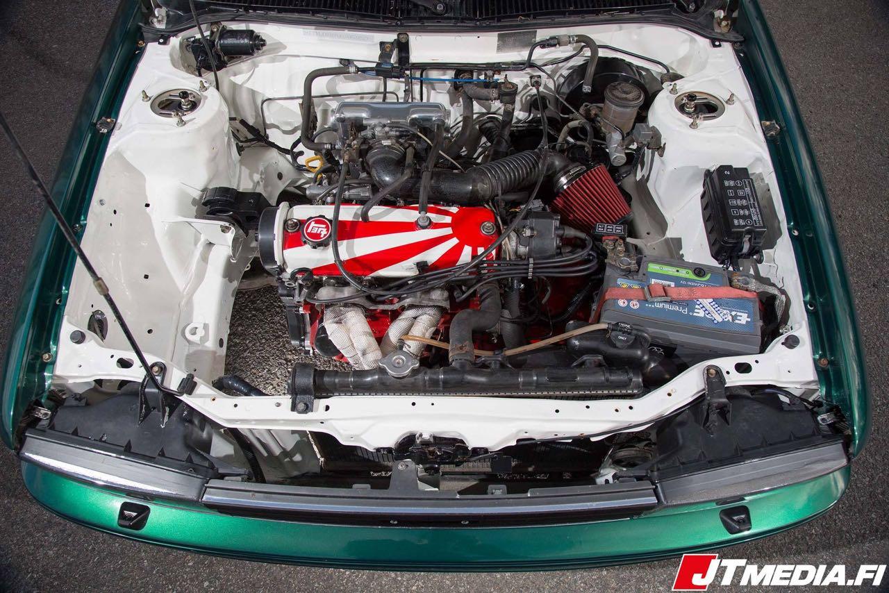 Toyota Corolla AE92... Voiture de location ! 15