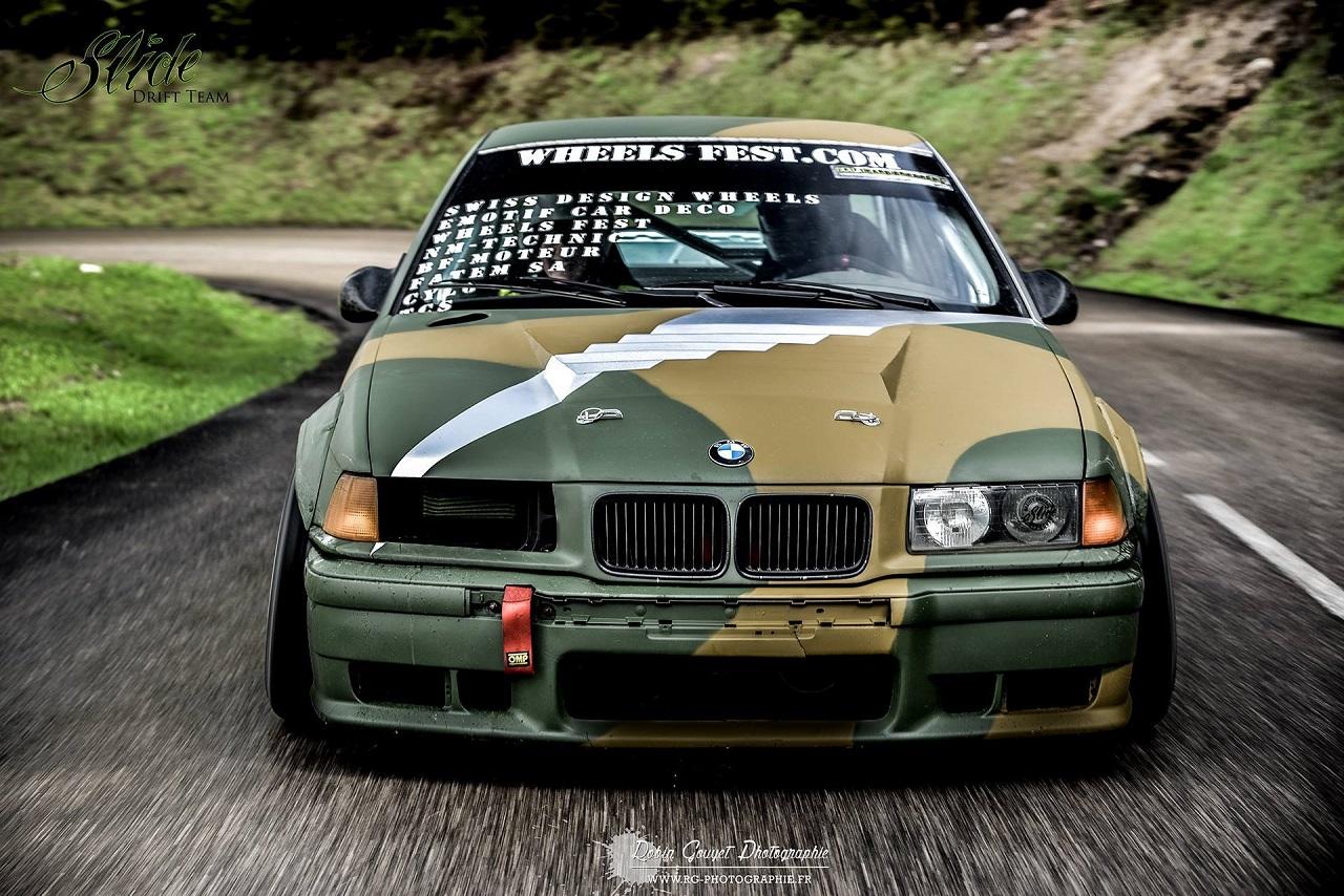 #Drifteur - Marin Morier et son (ex) E36 ! 8