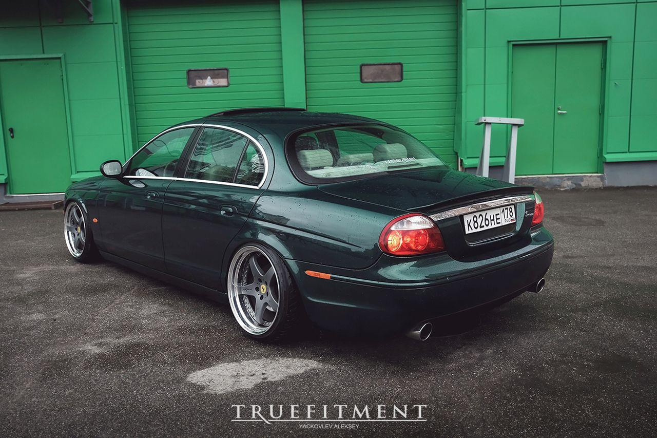 Jaguar S Type - Féline posée ! 2