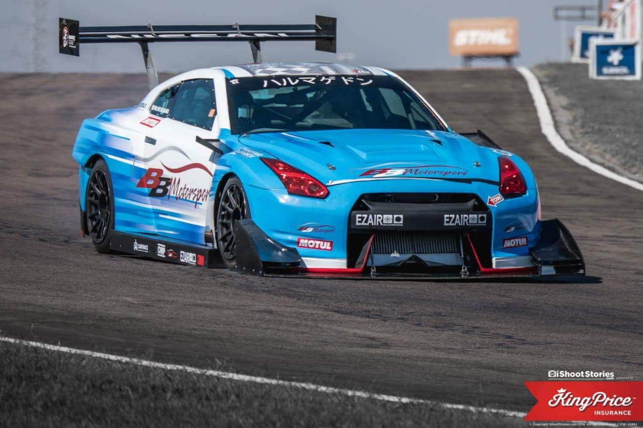 "Hillclimb Monsters - Nissan GT-R R35 1200+ ""Harumagedon"" 14"