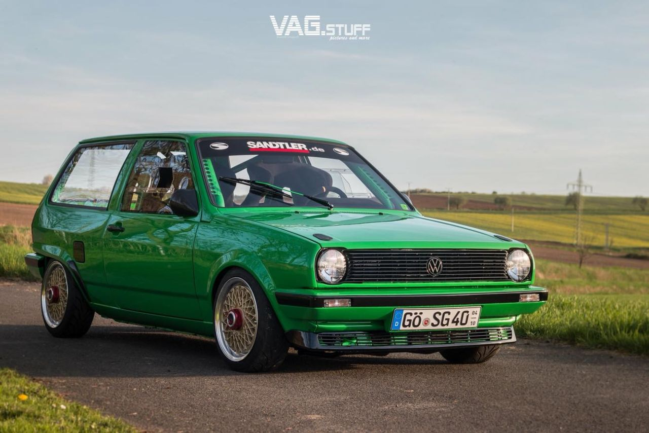 Polo 86C G60 - Missile de chasse ! 7