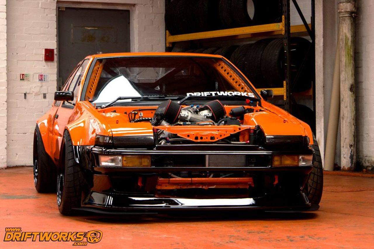 Toyota AE86... Encore ?! Oui, mais en V8 ! 9