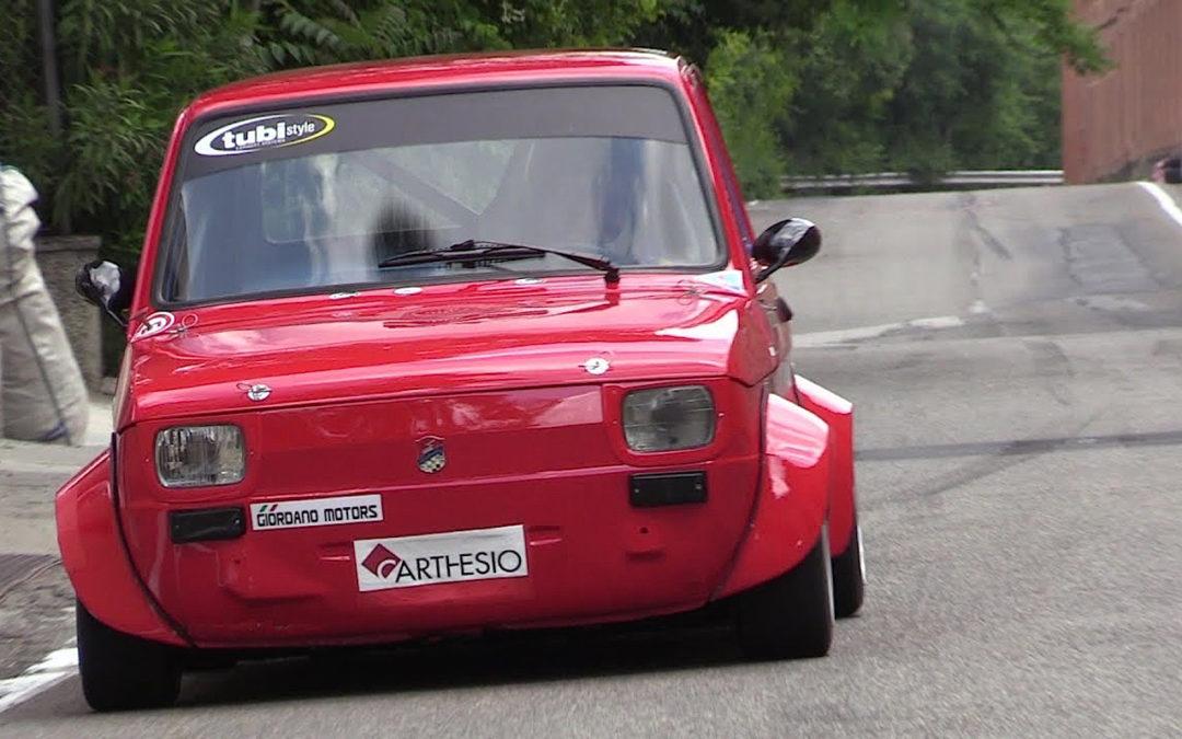 Hillclimb Monster : Fiat 126 presque d'origine…!