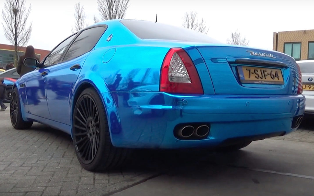 Engine sound : Maserati Quattroporte from Hell !