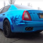 Engine sound : Maserati Quattroporte from Hell !