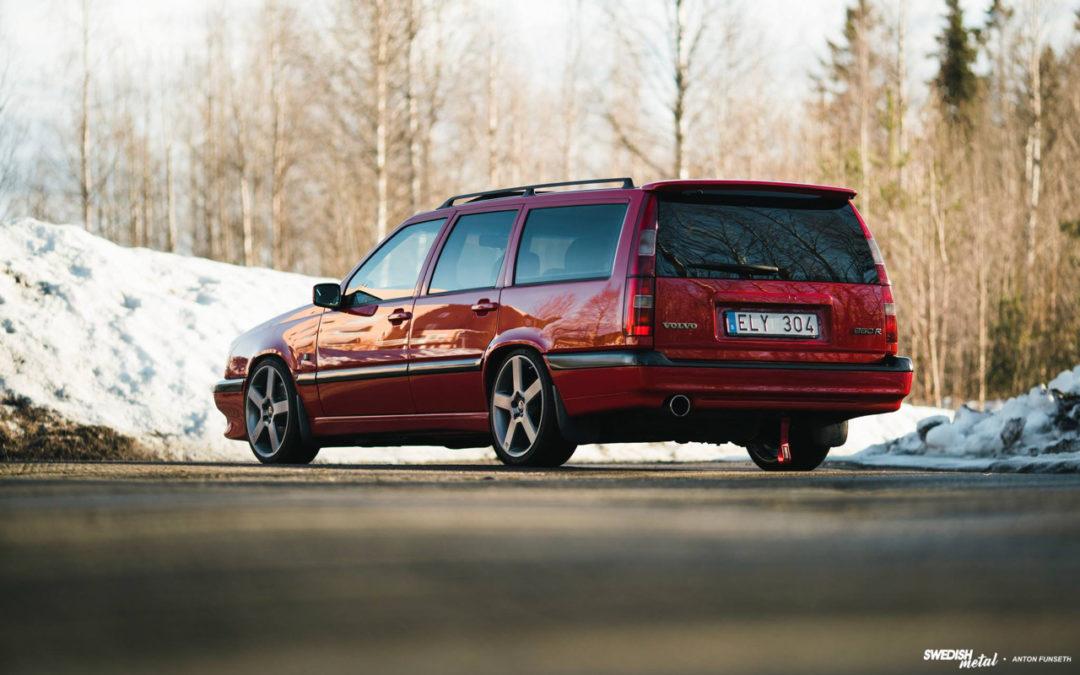 Volvo 850 R… La Sup'R Brique !