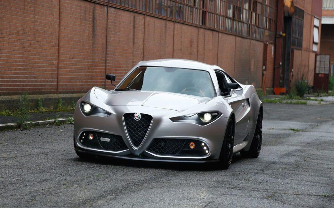 Alfa Romeo 4C by Mole Automobiles – Si seulement…