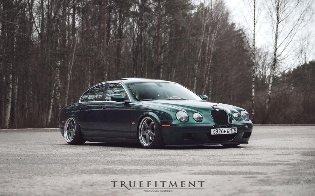 Jaguar S Type – Féline posée !