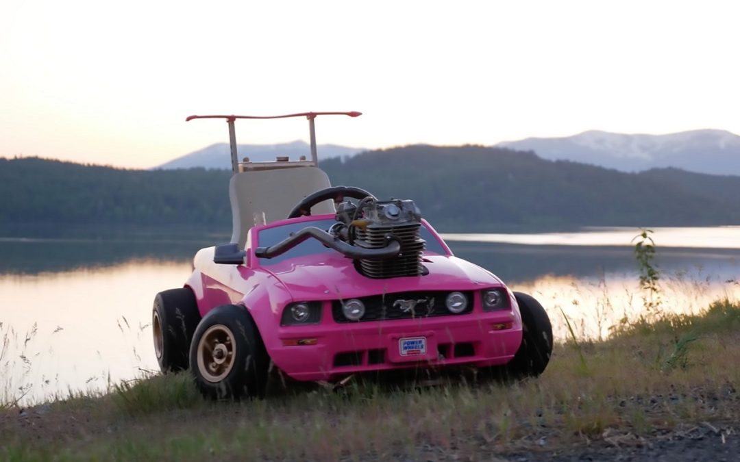 Mustang Barbie Car – Swap de Poche !