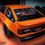 Toyota AE86… Encore ?! Oui, mais en V8 !