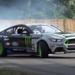 Quand Vaughn Gittin Jr. fait le show à Goodwood !