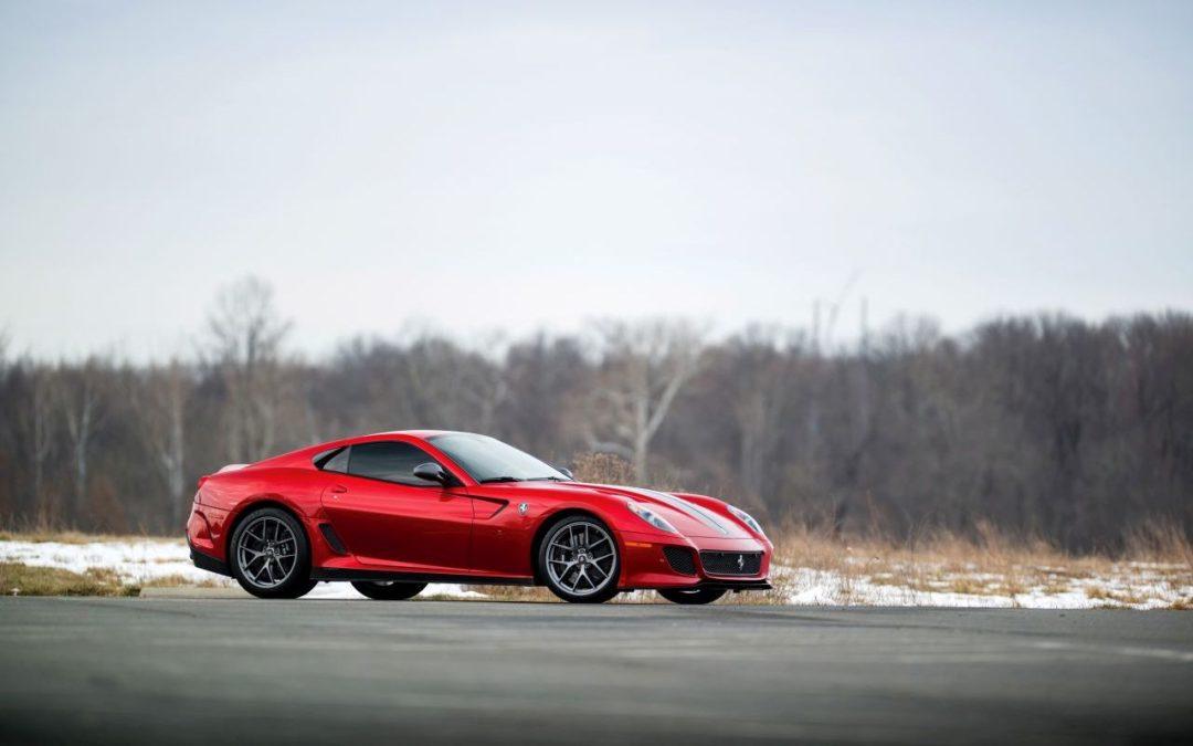 Engine Sound – Ferrari 599 GTO – Un bon coup d'douze