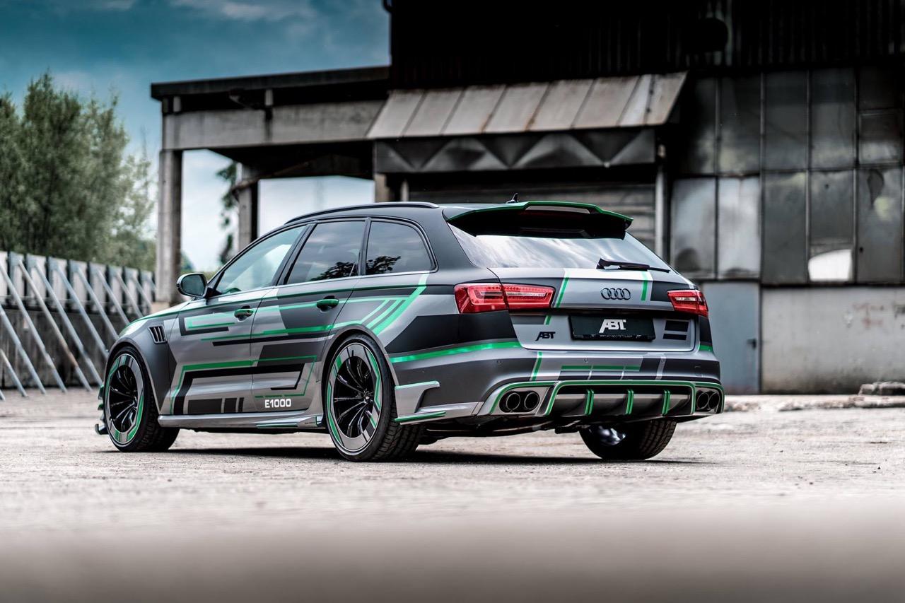 Audi RS6 E Concept ABT Sportsline : Ca veut dire Hybride avec plus de 1000 ch ! 21