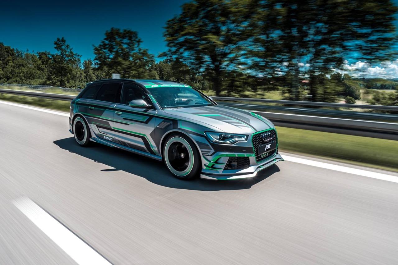 Audi RS6 E Concept ABT Sportsline : Ca veut dire Hybride avec plus de 1000 ch ! 26