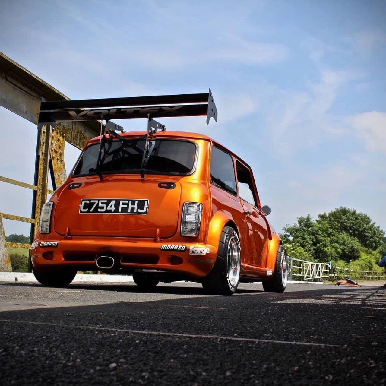 Austin Mini B16 Turbo... Shootée aux hormones ! 3
