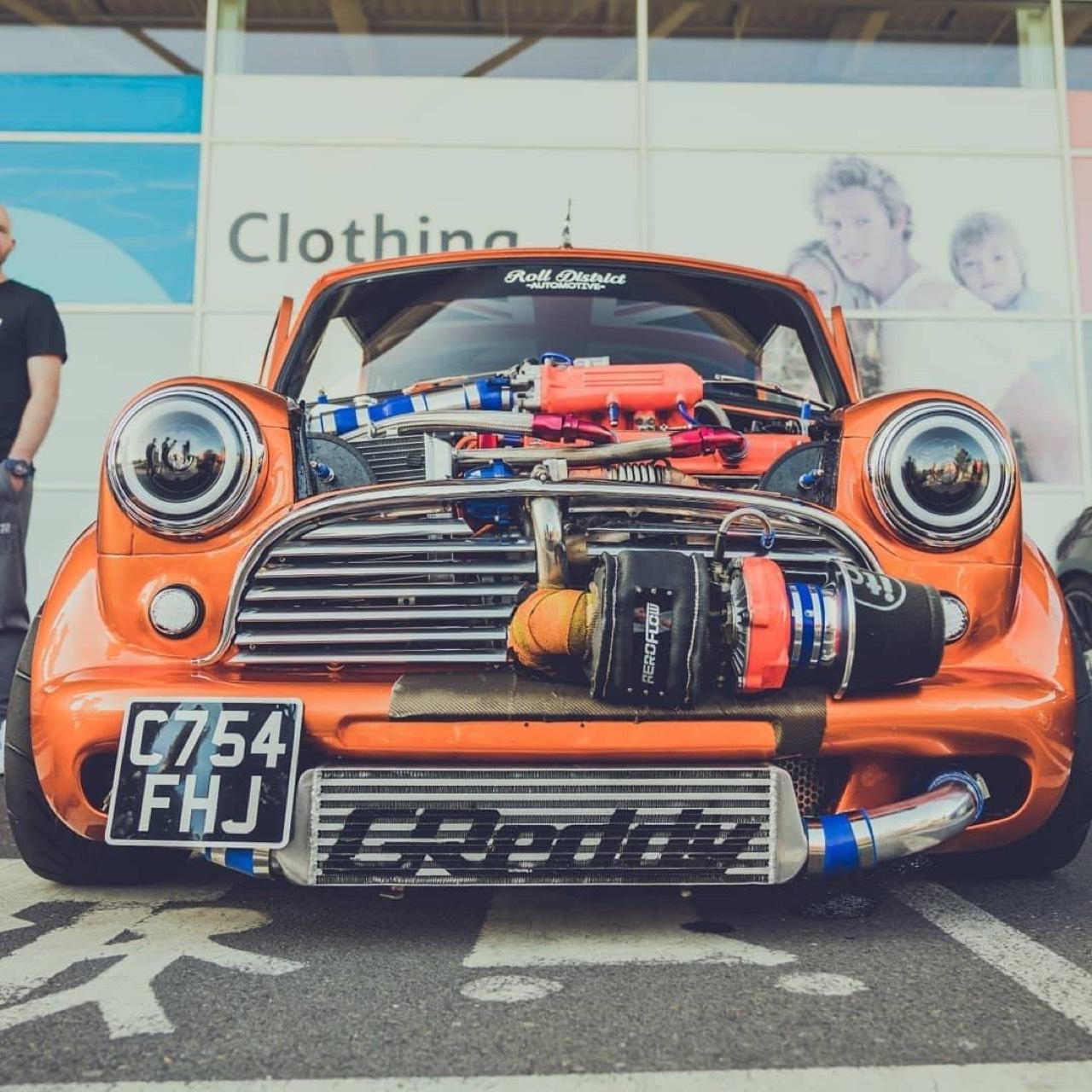 Austin Mini B16 Turbo... Shootée aux hormones ! 14