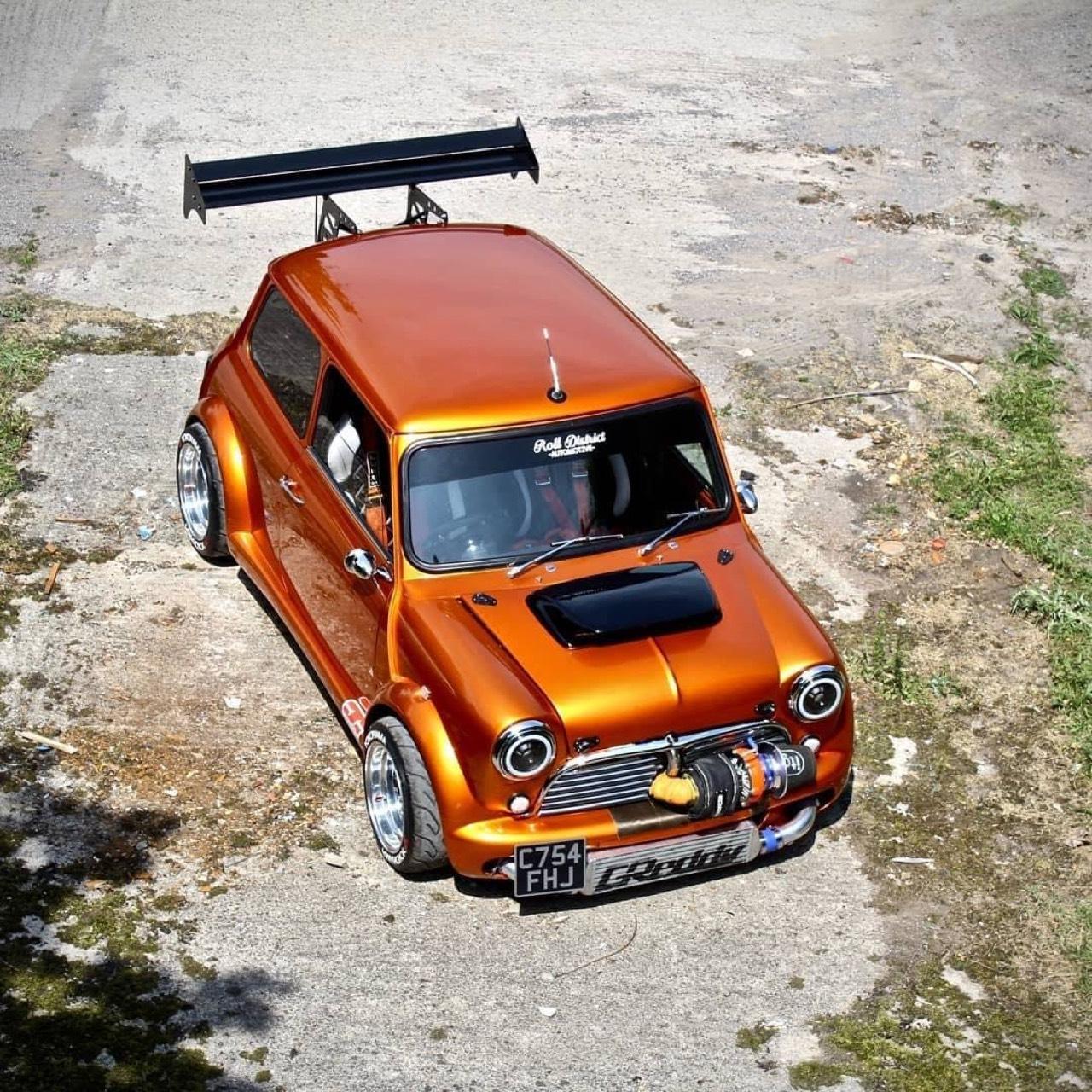 Austin Mini B16 Turbo... Shootée aux hormones ! 5