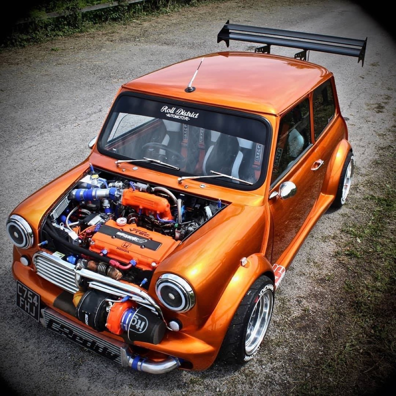 Austin Mini B16 Turbo... Shootée aux hormones ! 16
