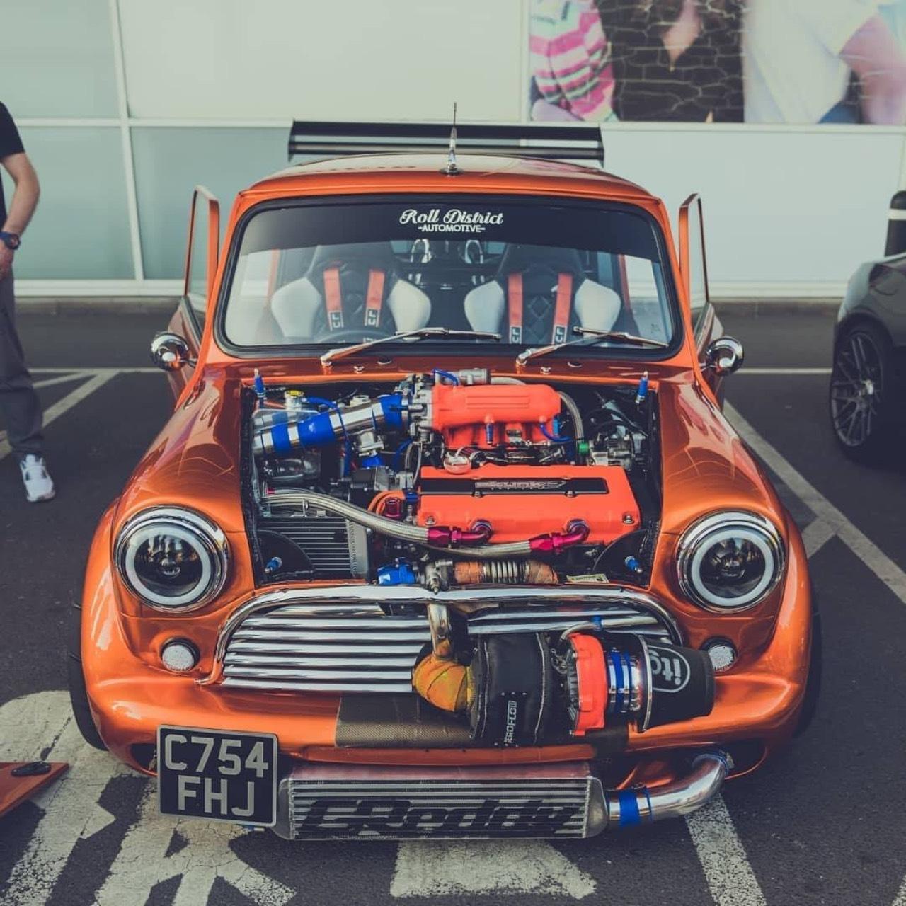 Austin Mini B16 Turbo... Shootée aux hormones ! 6