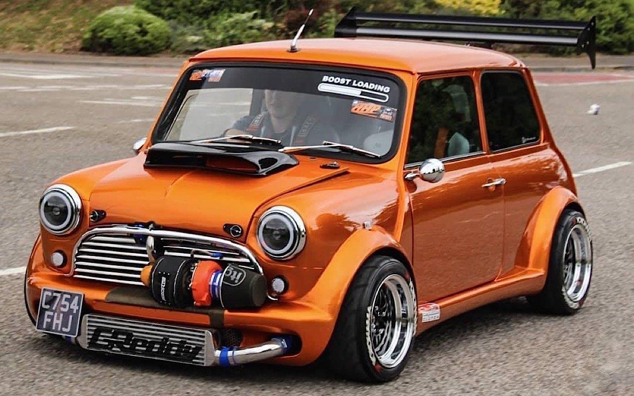 Austin Mini B16 Turbo... Shootée aux hormones ! 1