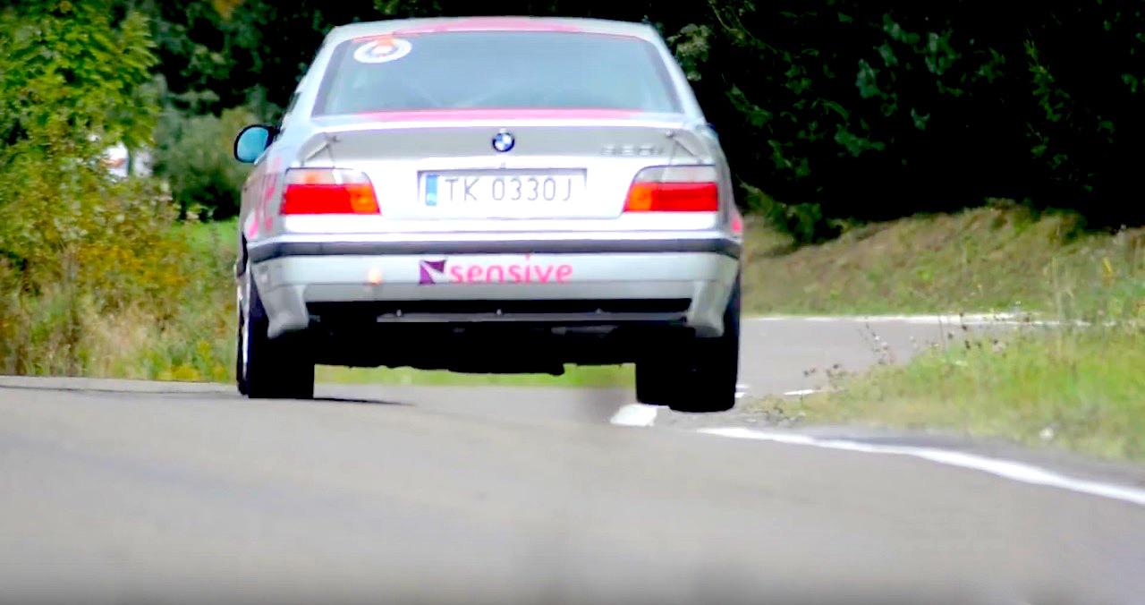 BMW E36 en rallye... A la limite ! 17