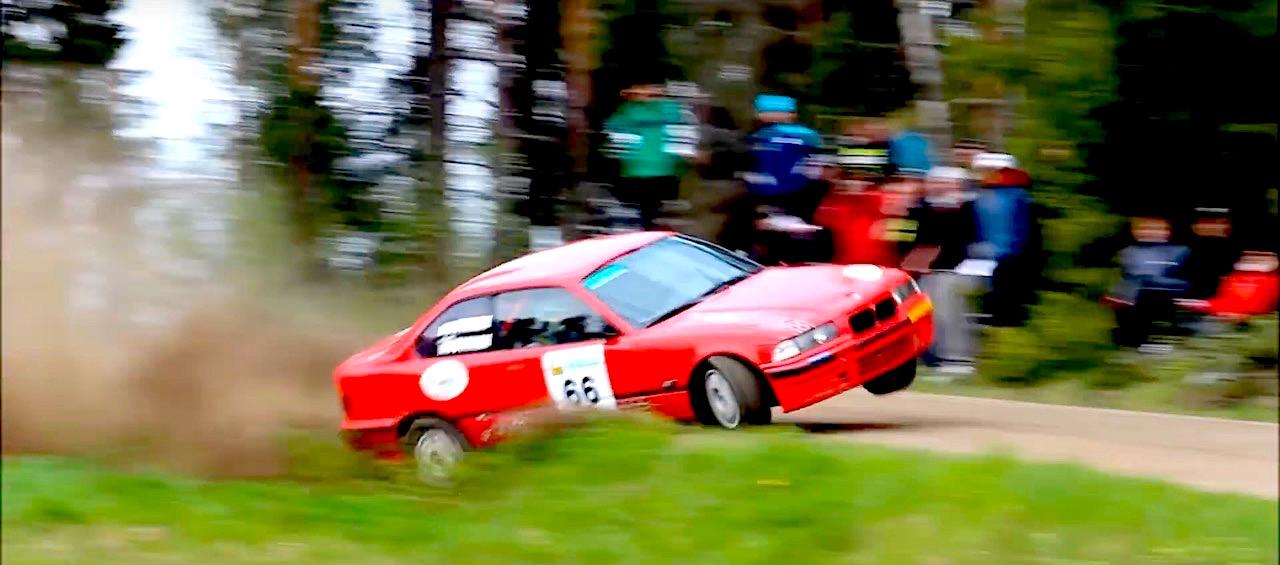 BMW E36 en rallye... A la limite ! 20