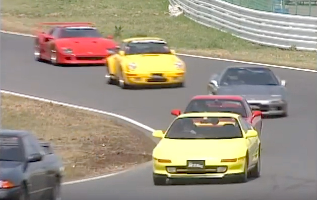 Best Motoring : Super Battle - F40, Ruf CTR, R32, NSX... 5