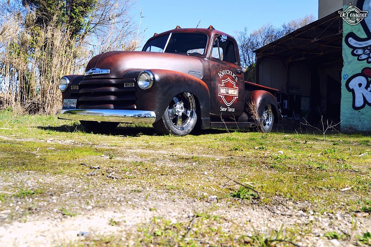 Slammed '51 Chevy 3100 - Born in the USA ! 61