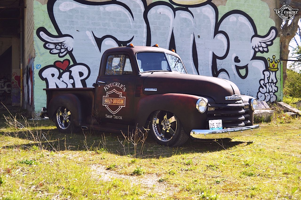 Slammed '51 Chevy 3100 - Born in the USA ! 2