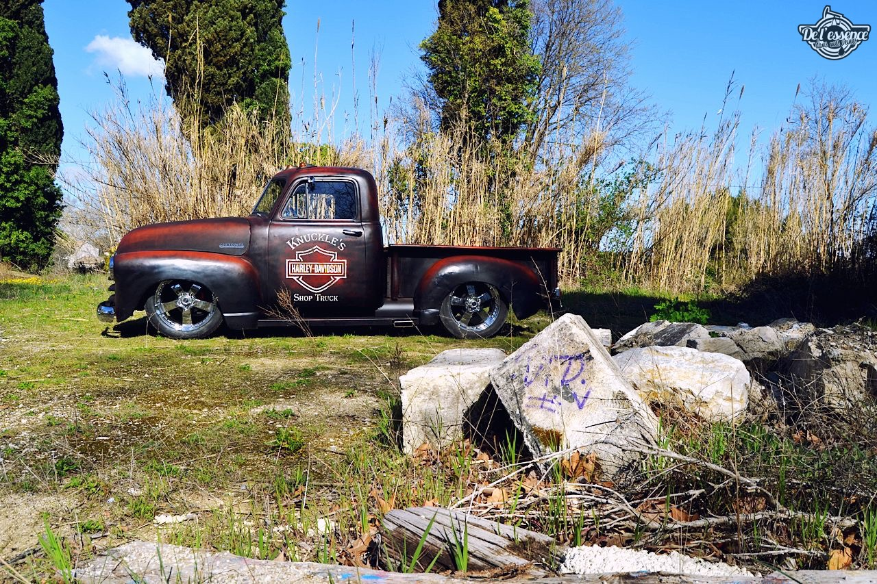 Slammed '51 Chevy 3100 - Born in the USA ! 63