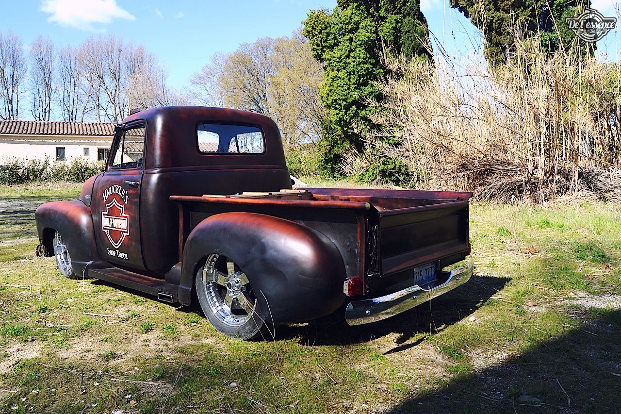 Slammed '51 Chevy 3100 - Born in the USA ! 10