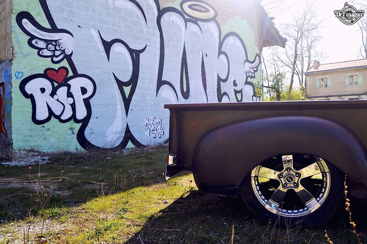 Slammed '51 Chevy 3100 - Born in the USA ! 66