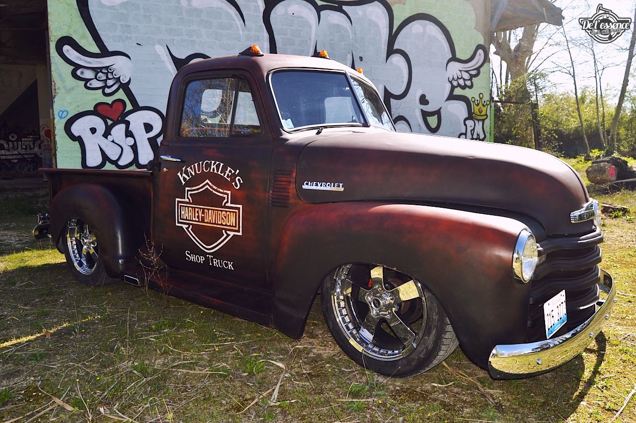 Slammed '51 Chevy 3100 - Born in the USA ! 13